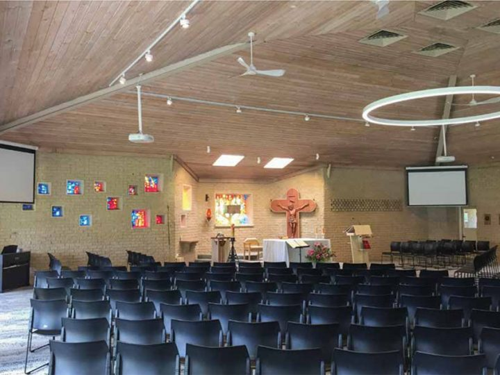 St Thomas More Parish AV Installation, Mt Eliza